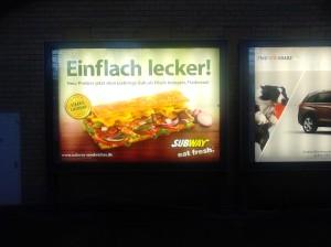 Einflach Lecker - Subway